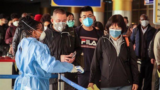 citizens scanned for the corona virus